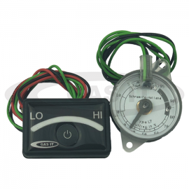 9 LED Display ( Switched ) & 0-95 ohm gas tank sender