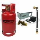 GAS IT 11kg Refillable bottle & locker  Fill kit
